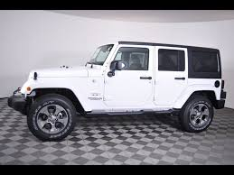 jeep rubicon white 2017 white jeep wrangler in ohio for sale used cars on buysellsearch