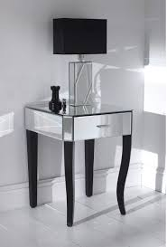 delue mirror modern bedside table concept design ideas with mesmerizing mirrored bedside table cheap images design ideas