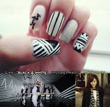 kpop nail art g na kpop nails pinterest korean nail art