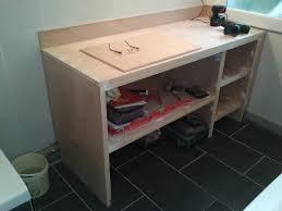 fabrication armoire cuisine fabriquer meuble salle de bain beton cellulaire fabriquer