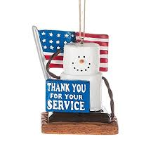 s u0027mores thank you armed service military christmas everyday
