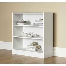 Bookcases Walmart Mainstays Wide 3 Shelf Bookcase Walmart Com 24 88 30w X 12d X