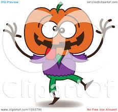 free jack o lantern clipart clipart of a halloween jackolantern scarecrow being silly