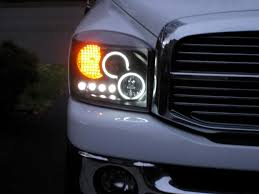 Dodge Durango Upgrades - halo head lights dodgeforum com