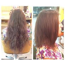 slightly angled long bob no more buns for my beautiful client livefree76 now she s rockin a