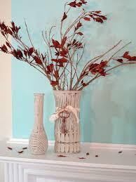 Fall Vase Ideas My Little Bit Of Fall Mantel Fox Hollow Cottage