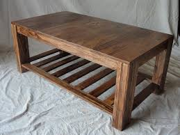 Simple Wooden Shelf Plans by Furniture Diy Coffee Table Plans Brown Rectangle Simple Wood Diy