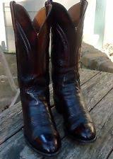 lucchese s boots size 9 lucchese wide ee boots for ebay