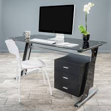 Small Computer Desk Ideas Best 25 Black Glass Computer Desk Ideas On Pinterest Pc Setup