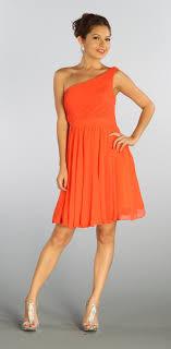coral plus size bridesmaid dresses one shoulder chiffon orange coral bridesmaid dress ruched
