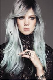 hairstyles for young women with gray hair laurence ourac granny hair taking over