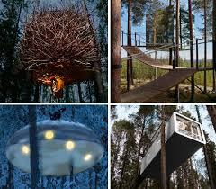 tree hotel sweden nordic nights 12 fun hip hotels in sweden urbanist