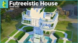 House Plan 45 8 62 4 by The Sims 4 House Building Futreeistic House Youtube