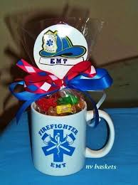 gift mugs with candy 11 best firefighter gifts images on