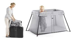 babybjörn travel crib light review two boys and a mommy
