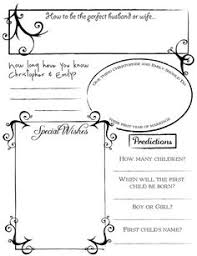 wedding registry book guest book diy wedding guestbook templates diy wedding project guestbook