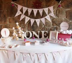 baby girl 1st birthday ideas winter onederland birthday party theme baby girl s