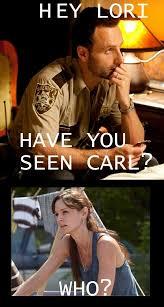 Hey Carl Meme - the best memes from season two of the walking dead