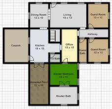100 free home floor plans drawing floor plans online
