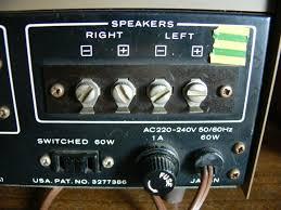 kenwood home theater system vintage 1973 trio kenwood audio ka 2000 integrated amplifier