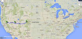 Glenwood Springs Colorado Map by Tails From The Highway The Loneliest Highway In America
