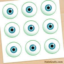 monsters eyes free monsters pin eye mike printable