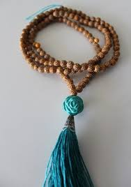 bead necklace with tassel images Jewels tassel tassel tassel mala wood bead necklace tassel jpg