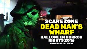disney world halloween horror nights dead man u0027s wharf scare zone at halloween horror nights 2016