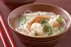 cuisine chinoise facile soupe de crevettes et nouilles chinoises