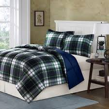 Eddie Bauer Rugged Plaid Comforter Set Plaid Bedding Sets You U0027ll Love Wayfair
