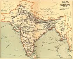 India Maps by Early Railway Maps Of India
