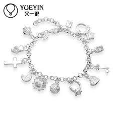 wholesale 2016 sale bead bracelets 925 sterling