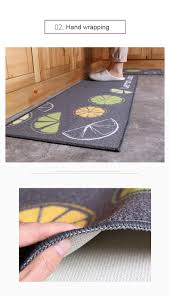 Fruit Rugs 2 Piece Washable Kitchen Mats Fruit Pattern Kitchen Rugs And