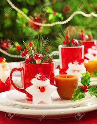 image of christmas table decoration luxury festive utensil over