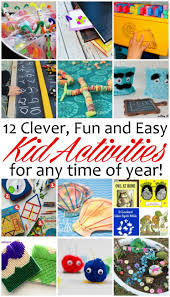 12 kid activities that are clever and fun mmm 327 block party