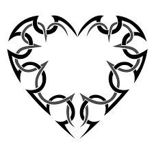 tribal heart tattoo design photo 7 2017 real photo pictures