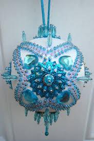 542 best beaded christmas ornaments images on pinterest beaded