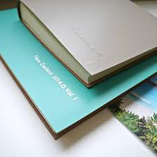personalised photo albums personalised leather album begolden