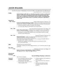 Financial Services Resume Template Example Of Good Resume Homey Ideas Good Resumes Examples Of