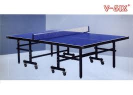 collapsible ping pong table folding ping pong table moveable t form leg with protective steel