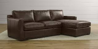 Brown Leather Sectional Sofa With Chaise Best Small Sectional Sofa With Chaise Lounge 2018 2019