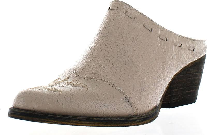 Very Volatile Daytons Mule,Off White,8.5