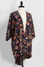cardigan kimono versona floral print kimono cardigan