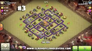 clash of clans hog rider top 10 th7 war base anti 3 star anti dragon hogs ballons 3