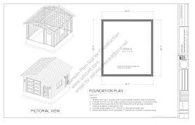 g447 18 u0027 x 20 u0027 x 10 u0027 garage plans blueprints construction