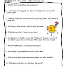 syllables worksheets free worksheets library download and print