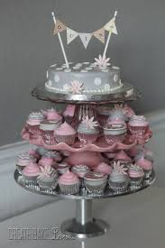 pink and silver baby shower create bake pink and grey baby shower