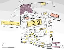 Sanctuary Floor Plans by File Plan Delphi Sanctuary Of Apollo Colored Svg Wikimedia Commons
