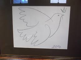 picasso created the dove of peace in the 50s picture of site