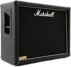 marshall 2x12 vertical slant guitar cabinet marshall 1936v 140 watt 2x12 extension cabinet with v30s sweetwater